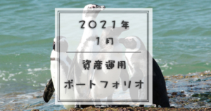 2021年1月ポートフォリオ